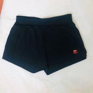 Fila Sport Black Athletic Shorts